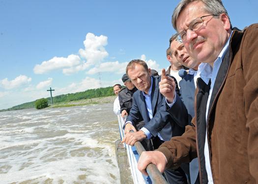 Premier zapoznał się z sytuacją we Włocławku