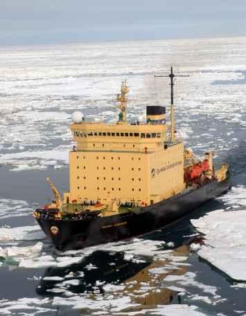 Icebreaker Kapitan Khlebnikov author, Roderick Eime fot. wikipedia