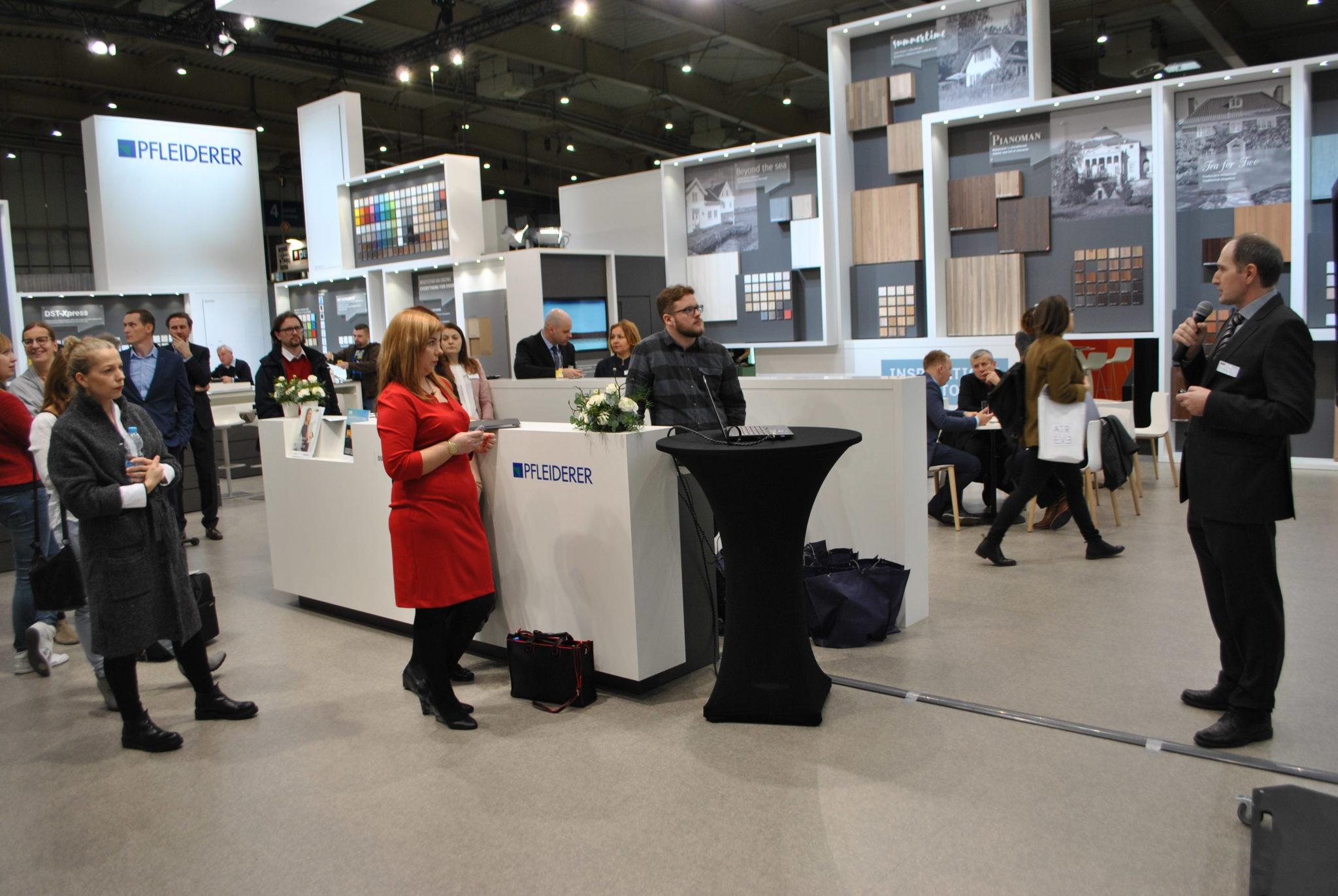 Pfleiderer zaprezentował Kolekcję Design 2017-2020